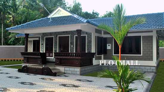Low cost house plans in kerala low budget homes in kochi for Low cost house plans with estimate