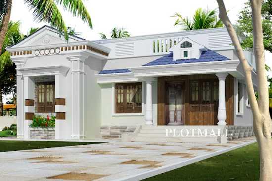 Low cost home designs in kerala beautiful single floor for Sedie design low cost