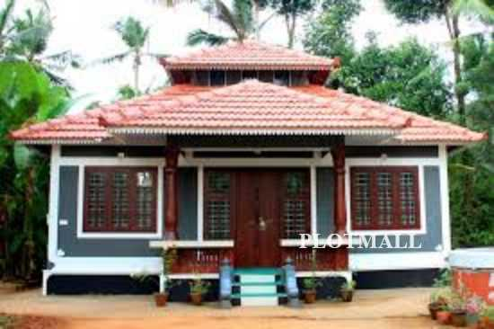 Low cost home designs in kerala beautiful single floor for Low cost house plans with photos